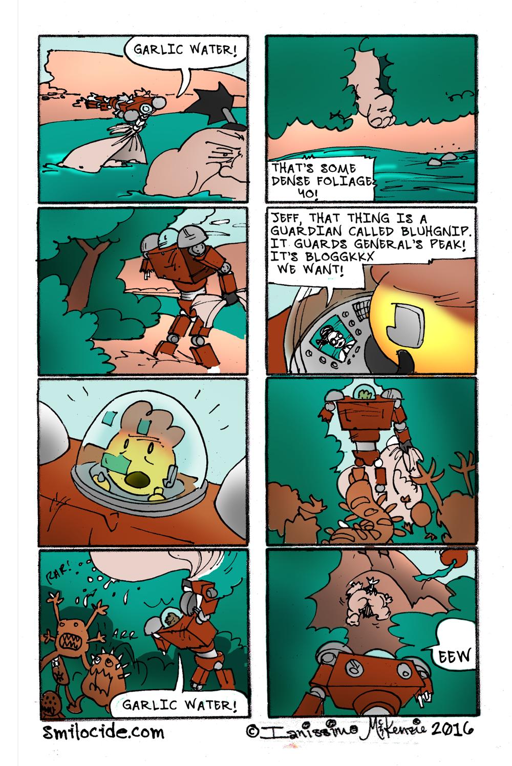 MS 2:38 - Garlic Water!
